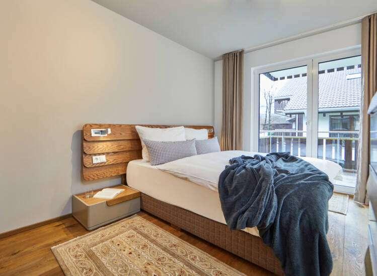 Doppelbett Apartment Nr. 19 Superior - Slider05