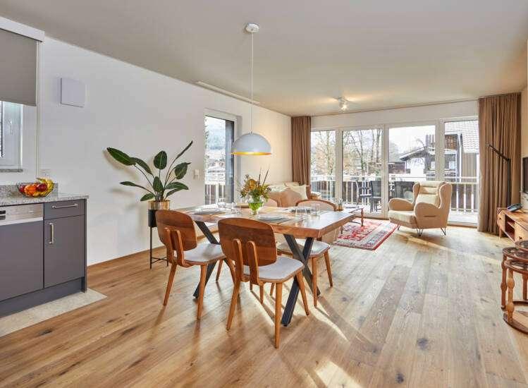 Essbereich Apartment Nr. 20 Deluxe - Slider07