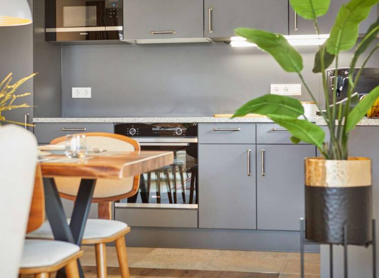 Küche Apartment Nr. 20 Deluxe - Slider09