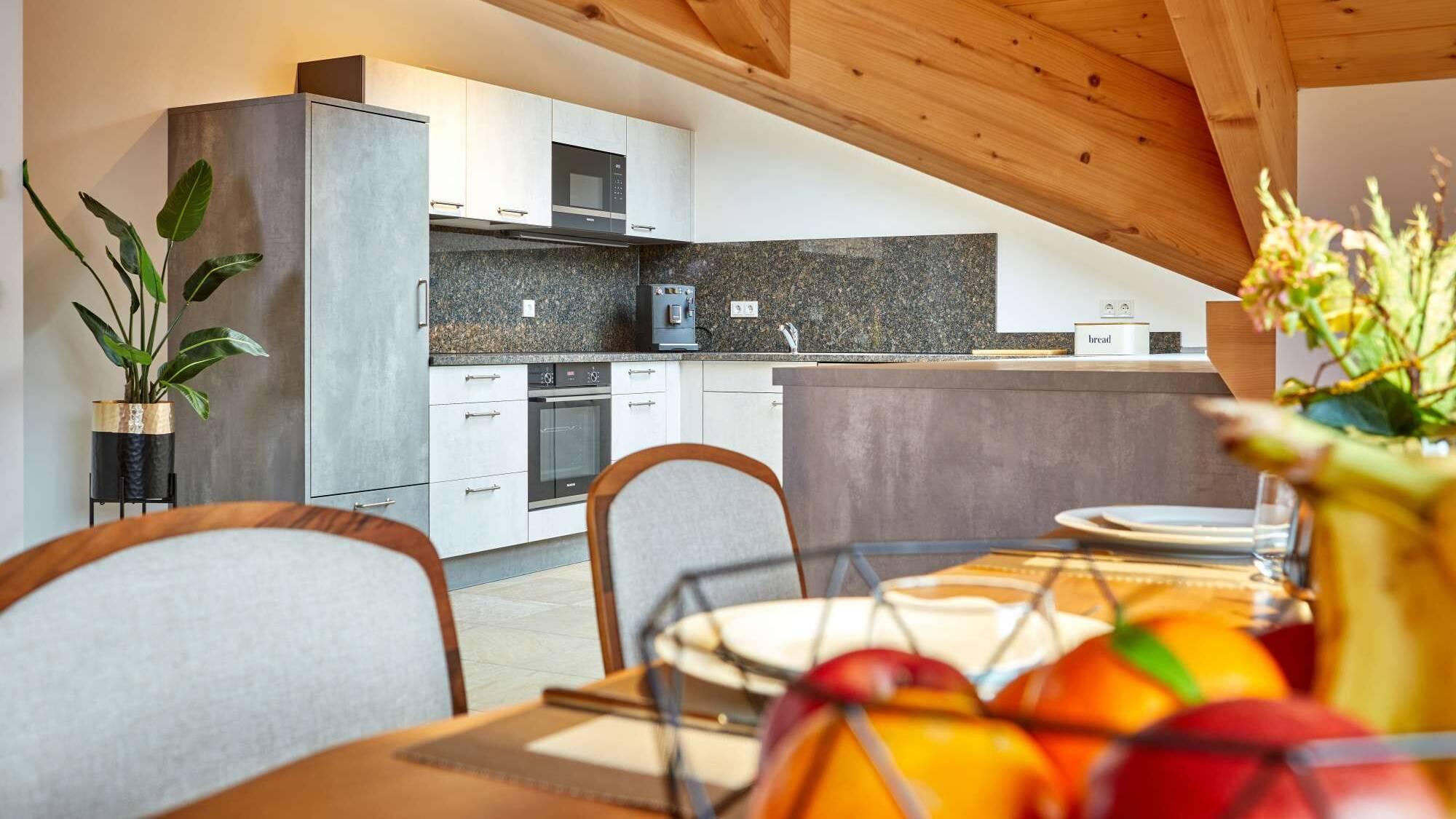 Apartment Suite Slider Küche