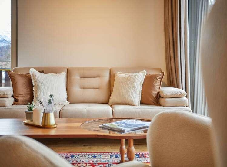 Apartment Deluxe Slider Wohnen