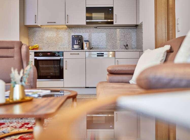 Apartment Superior Slider Küche