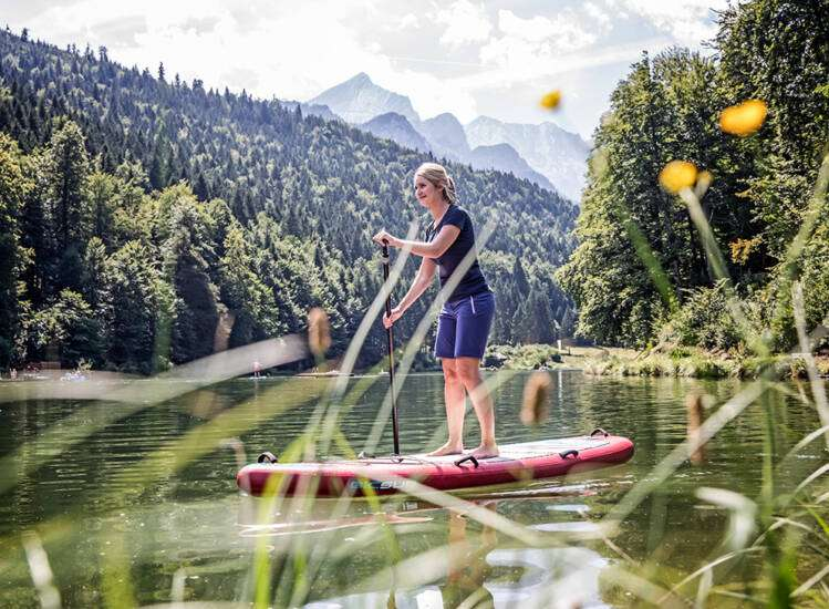 Sommer in Garmisch Riessersee