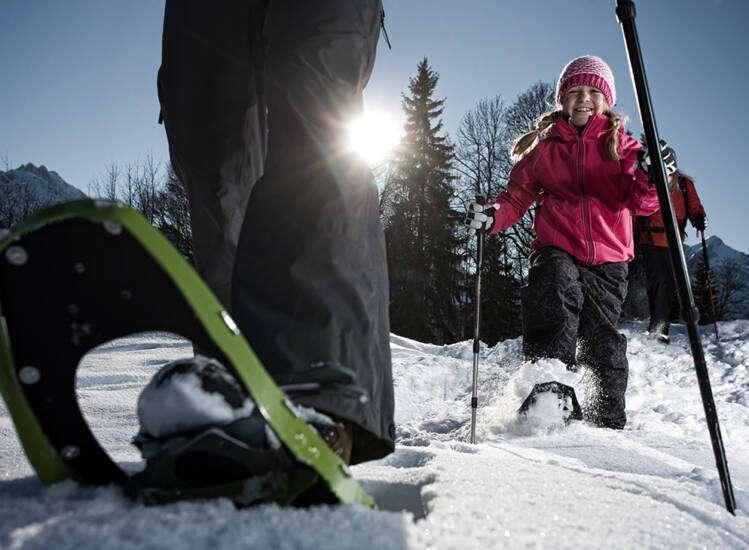 Winter in Garmisch Schneeschuh