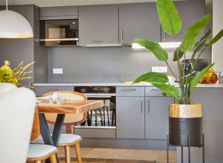 Küche Apartmentslider Übersicht