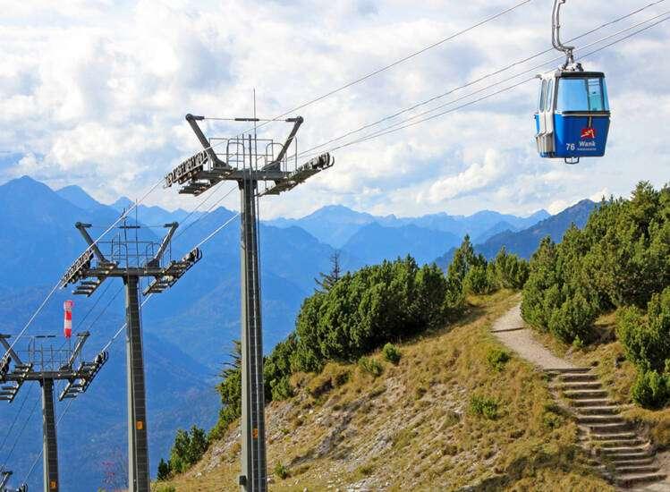 Sommer in Garmisch Gipfel Wank