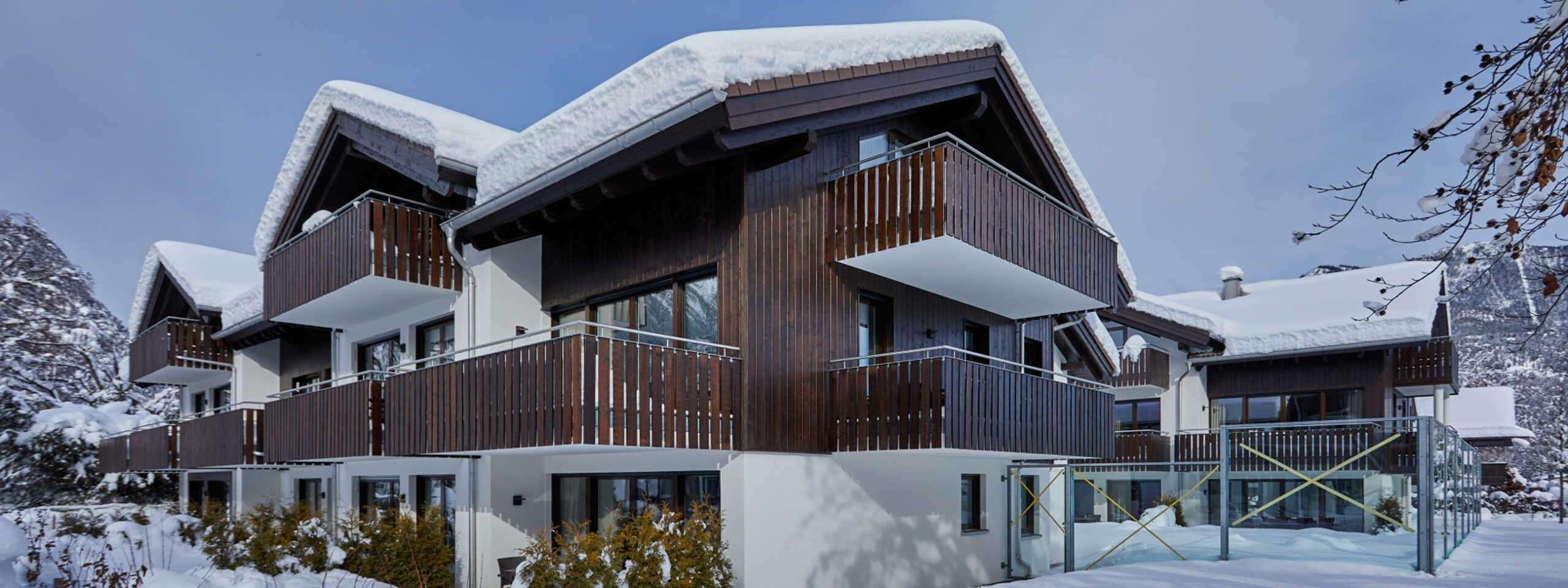 Bildergalerie Aussenbereich Apartmenthäuser Winter01